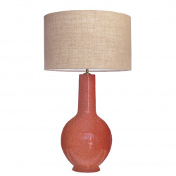 1764 - Lamp and Saco style Shade (73cm height)