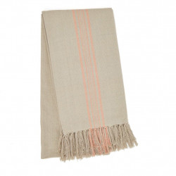 Antibes Coral Throw