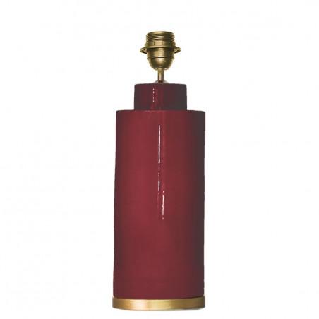 1727 - Lamp (36cm height) Golden base