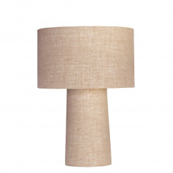 1728 - Small lamp and Saco style shade  (59 cm height)