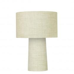 Linen Mushroom Lamp