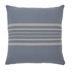 Antibes Blue & Linen Cushion
