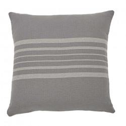 Antibes Grey & Linen Cushion