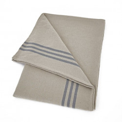 Maxime Blue & Linen Tablecloth