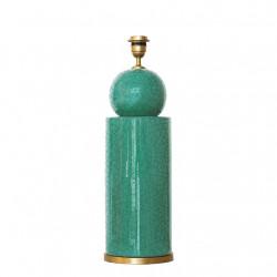 1837 - Lamp (49cm height)...