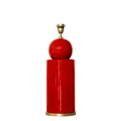 1838 - Ceramic lamp (47cm...