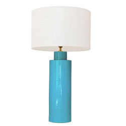1725 - Large lamp and Linen...