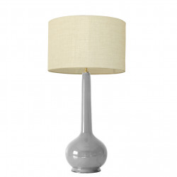 1778 - Large lamp and linen...