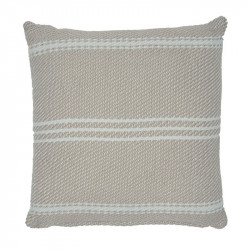 Lightweight Oxford Stripe Chinchilla cushion