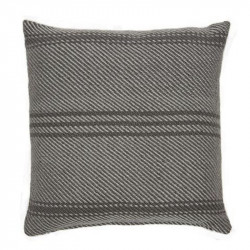 Lightweight Oxford Stripe Tabby cushion