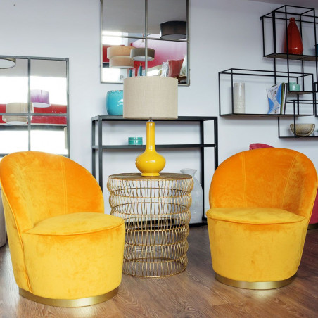 Armchair Moutarde