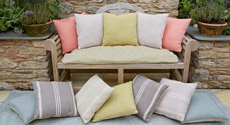 Eco friendly cushions